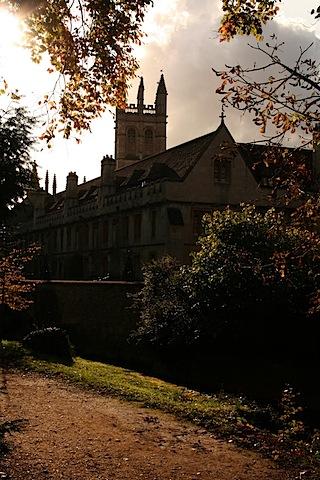 Magdalene College vom Addison's Walk aus gesehen